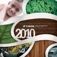 Relatório de Sustentabilidade 2010 - Cikel