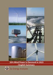 50% Wind Power in Denmark in 2025 - Ea Energianalyse a/s