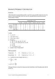 ST Contoh bivariate probability distribution - istiarto