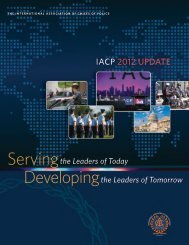 IACP 2012 UPDATE - International Association of Chiefs of Police