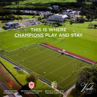 This is where champions play and sTay - Vale Resort