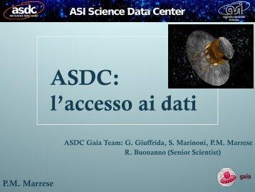 ASDC: l'accesso ai dati - Inaf