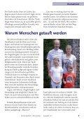Taufen - Evangelische Kirchengemeinde Verl - Page 7