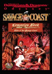 An Atlas of the Savage Coast