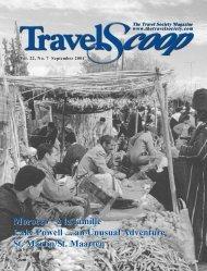 Vol. 22 No. 7- September 2004 - The Travel Society