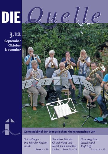 Besondere Tage im Herbst - Evangelische Kirchengemeinde Verl