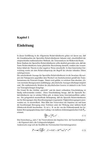 Einleitung - Verlag Harri Deutsch