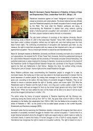 Mazin B. Qumsiyeh, Popular Resistance in ... - Ludwig Watzal