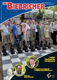 DER BIEBRICHER :: Ausgabe 225, August 2010 - Gerich