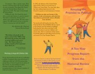 Keeping the Promise to Protect - United States Conference of ...