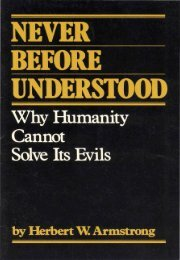 Never Before Understood Why Humanity Cannot Solve Its Evils PDF