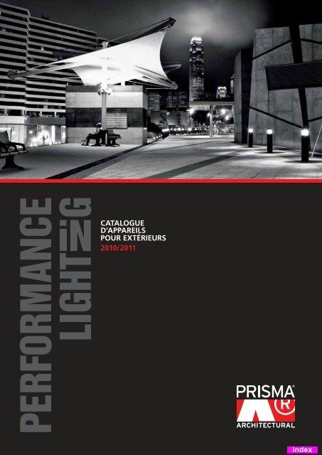 Catalogue Dappareils Pour Extãrieurs 20102011 Index