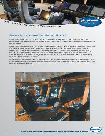 Bridge Mate Integrated Bridge System - Edison Chouest Offshore