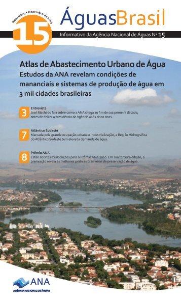 Atlas de Abastecimento Urbano de Água - Ana