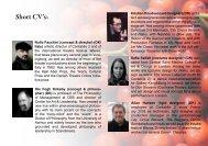 Read short Cv's here! - Cantabile 2
