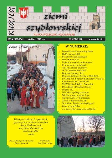 W NUMERZE: Pasja, 24 marca 2013 r. - Gmina Szydłów