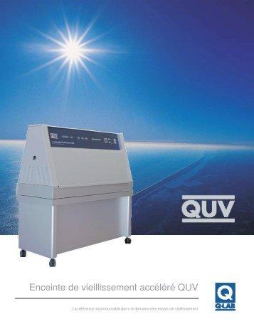 Enceinte de vieillissement accéléré QUV - Labomat