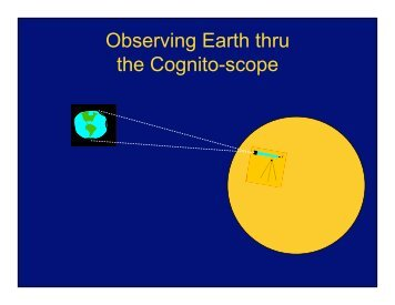 Observing Earth thru the Cognito-scope