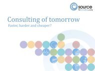 Consulting of tomorrow