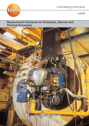 Measurement Solutions for Emissions, Service and Thermal ...