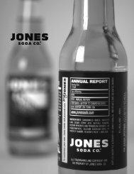Year Ended December 31, 2011 - Jones Soda