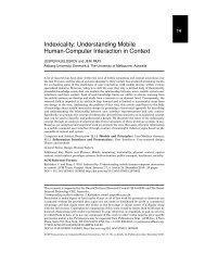 Understanding mobile human-computer interaction in context - VBN