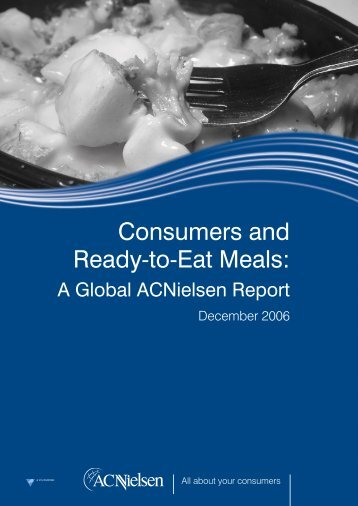 Consumers and Ready-to-Eat Meals: