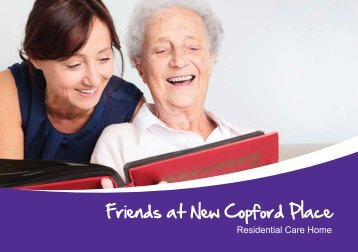 Download a brochure - Friends of the Elderly