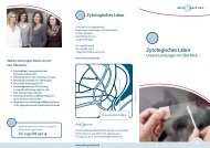 Flyer Zytologisches Labor - abts + partner