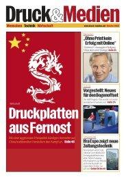 """""""OhnePrintkein ErfolgmitOnline"""" Vorgestellt:Neues - Druck und Medien"""