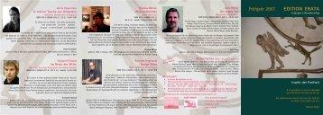 2007 - Frühjahr - Teil 2 (2-3-4-5)