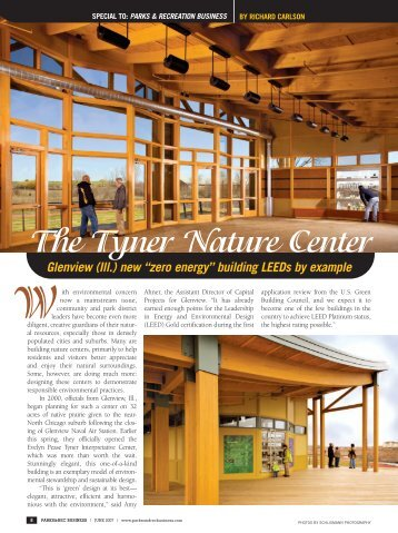 """zero energy"" building LEEDs by example The Tyner Nature Center W"