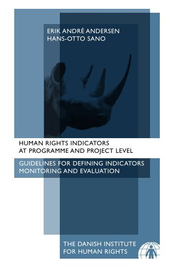 Human Rights Indicators at Programme and Project level