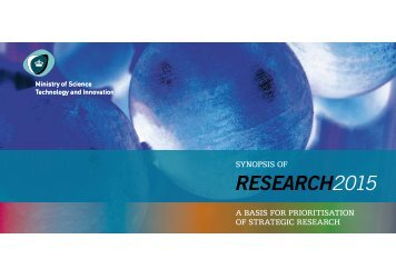 RESEARCH2015 - Danish Agency for Science, Technology and ...