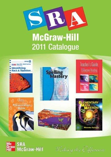 2011 Catalogue - McGraw-Hill Education Australia & New Zealand
