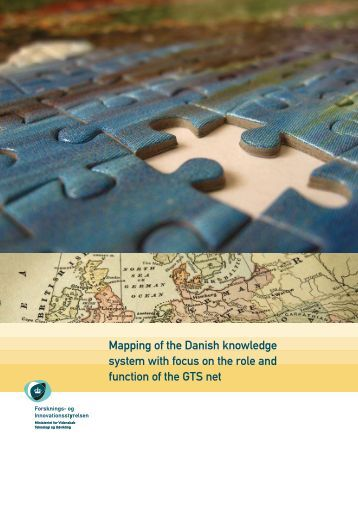 Mapping of the Danish knowledge system with ... - Teknologiportalen