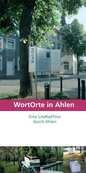 WortOrte in Ahlen - kulturelles-net