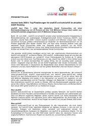 internet facts 2008-I: Top-Platzierungen für studiVZ und schülerVZ ...