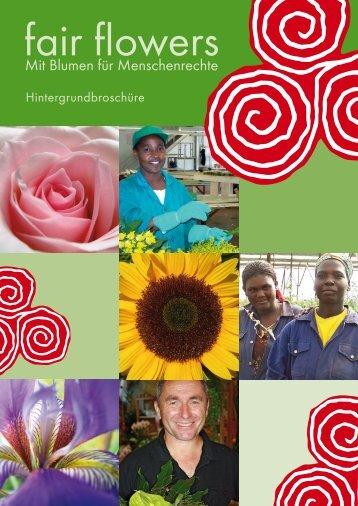 fair flowers - Christliche Initiative Romero
