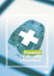 Preventie ziekenhuiscriminaliteit - Algemene Directie Veiligheid en ...