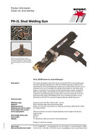 PH-2L Stud Welding Gun - Soyer
