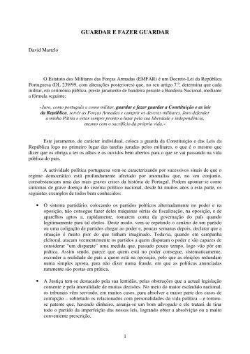GUARDAR E FAZER GUARDAR - Clube de Jornalistas