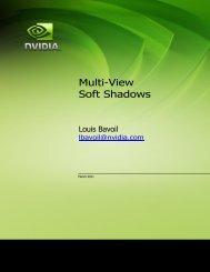 Multi-View Soft Shadows - NVIDIA Developer Zone