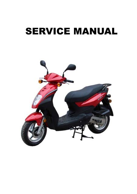 keeway scooter owners manual