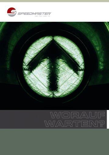 Imagebroschüre downloaden - Speedmaster GmbH