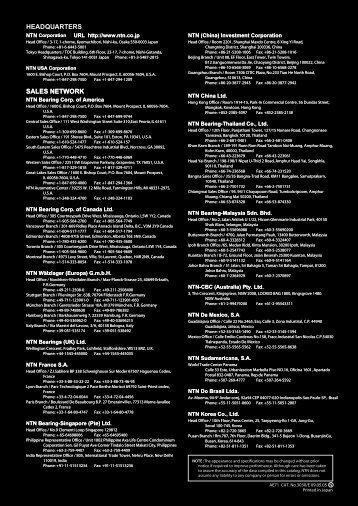 NTN 'ULTAGE' Spherical Roller Bearings - CBC Bearings