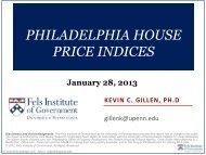 Philadelphia House Price Indices - Fels Institute of Government ...