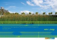Framework for the Integration of Flood and ... - Water by Design