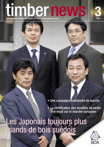 Les Japonais toujours plus friands de bois suédois - SCA Forest ...