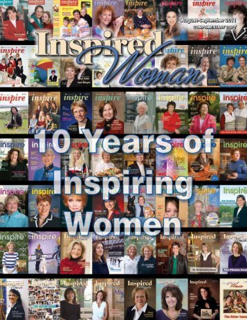 Our Mission - Inspired Woman Magazine